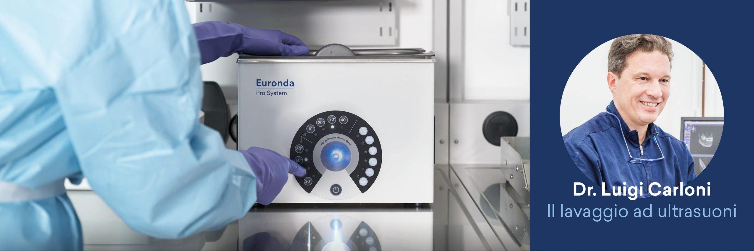 Guida al processo di sterilizzazione - Il lavaggio a ultrasuoni
