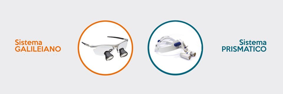 Sistemi ingrandenti in odontoiatria: Galileiano VS Prismatico