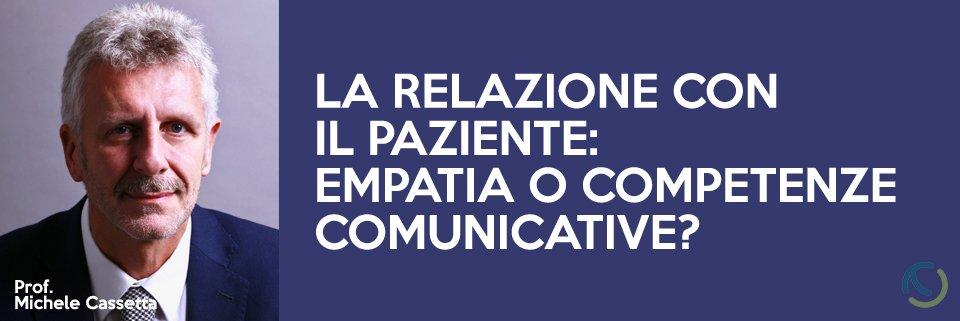 La relazione con il paziente odontoiatrico: empatia o competenze comunicative?